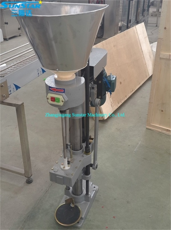 semi automatic wine bottle corking machine