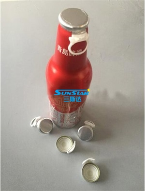 pull ring cap sealing machine for beer