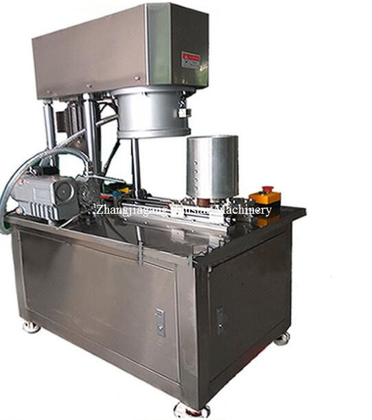 Manual vacuum can sealing machine