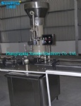 Automatic cork bottle capping machine for wine bottle