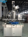 Automatic glass jar capping machine for juice sauce drink food