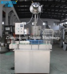 Automatic high speed crown capper machine for beer soda water