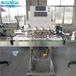 Automatic linear twist capping machine for various screw caps