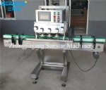 Automatic PLC controlled linear twist off capper for various screw caps