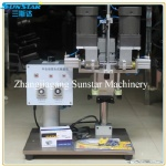Manual or semi automatic multi function capping machine