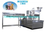 Automatic doypack pouch with spout filling and packing machine for jelly