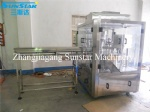 Automatic standing up pouch with spout filling and packaging machine for soybean milk
